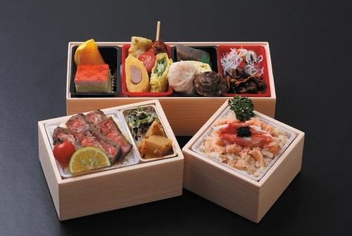 製薬・会議弁当三段箱2000円